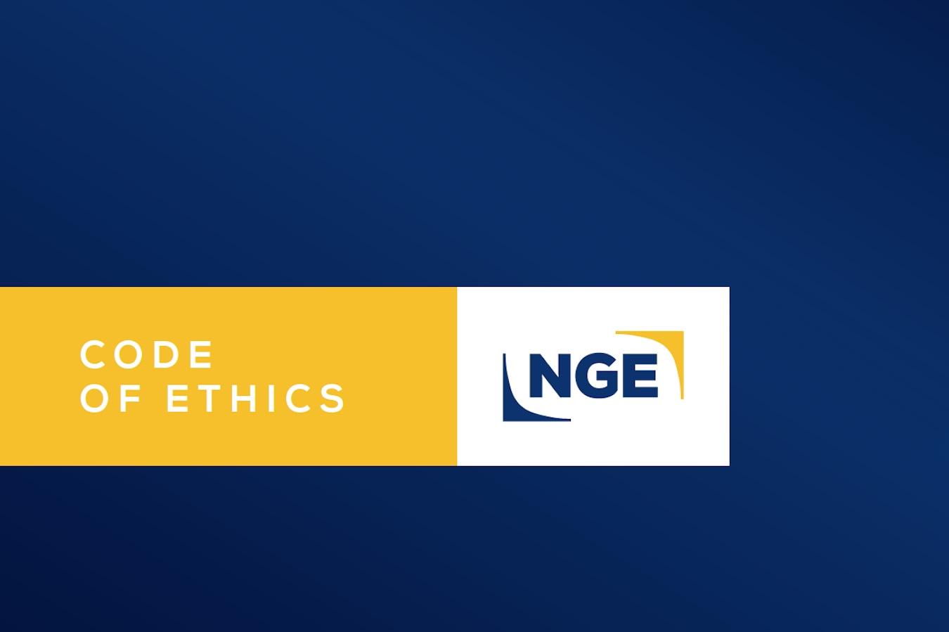 Code of ethics NGE